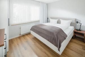 Ferienhaus Harmening FeWo 1- Schlafzimmer