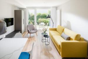 Ferienhaus Harmening FeWo 1- Wohnzimmer