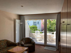 Ferienhaus Harmening FeWo 3 - Wohnzimmer