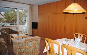 Ferienhaus Harmening FeWo 2    Wohnzimmer