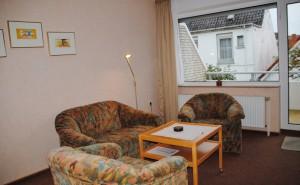 Ferienhaus Harmening FeWo 2 - Wohnzimmer