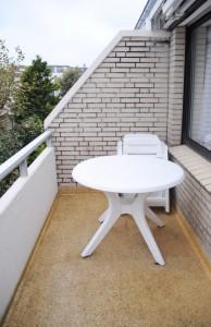 Ferienhaus Harmening FeWo 4 - Balkon