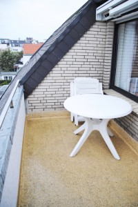 Ferienhaus Harmening FeWo 6 - Balkon